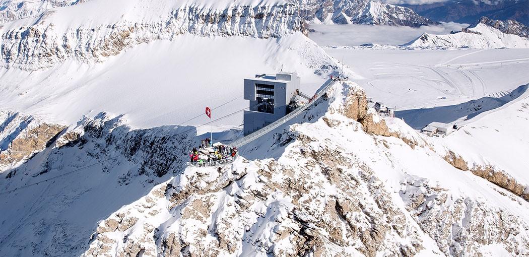 View Point Glacier 3000