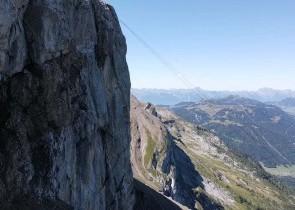 Climbing at Cabane\'s area