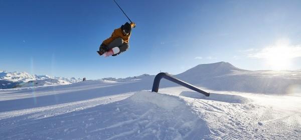 Snowpark Glacier 3000